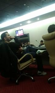 اتاق کنفرانس محل برگزاری جشنوار وب ایران