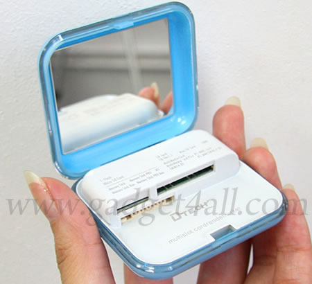 USB Mirror Card Reader
